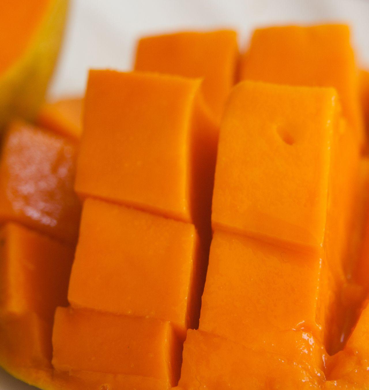 "Free photo ""Mango Cut Pieces"""