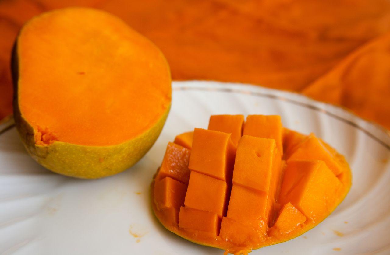 """Free photo """"Mango Slice Flowers"""""""