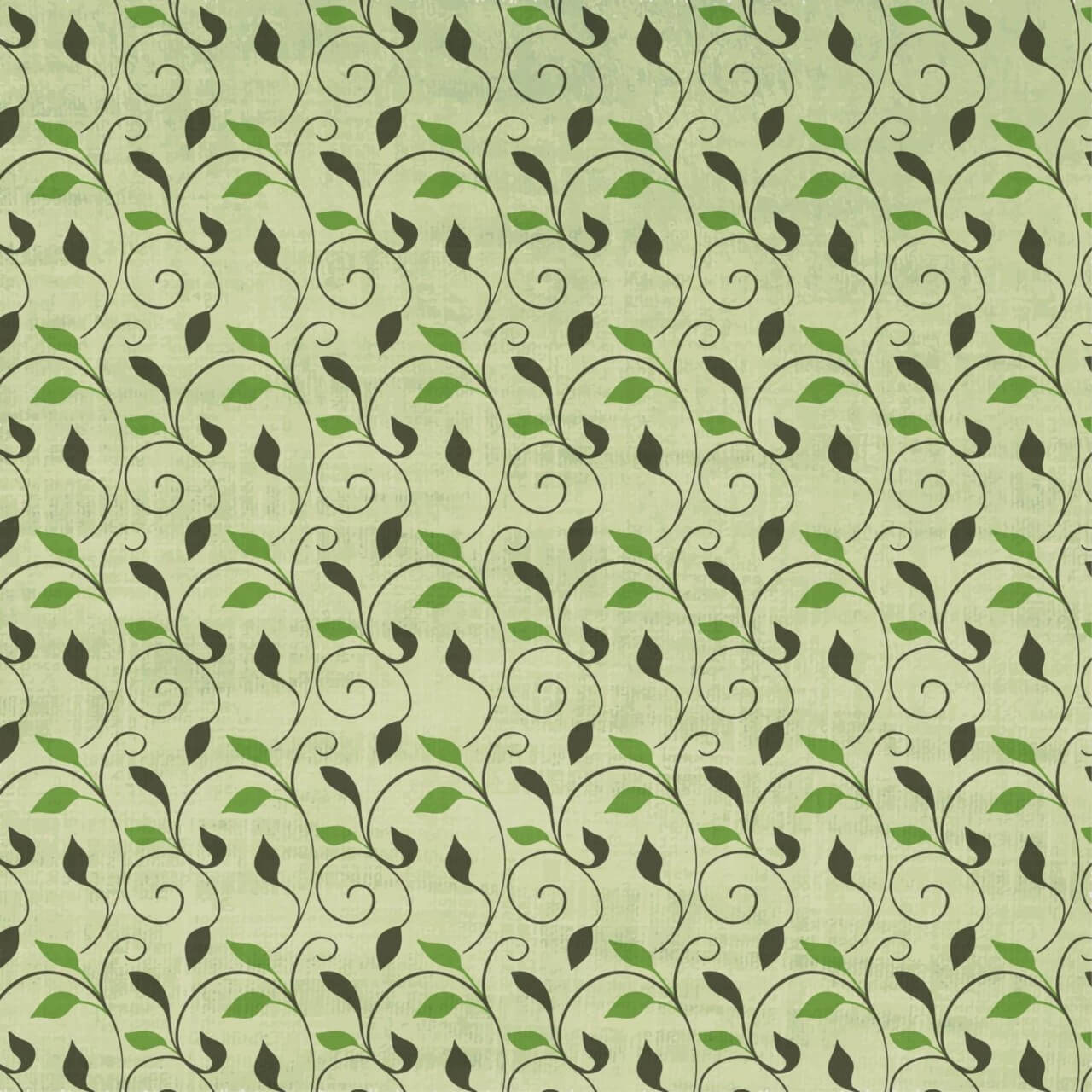 """Free vector """"Japanese patters with leaves"""""""