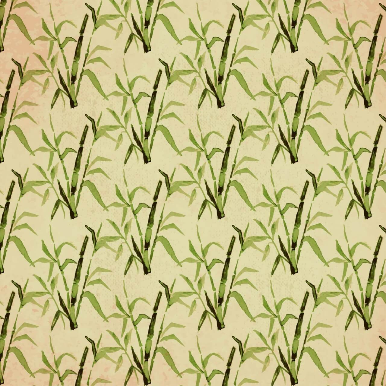 """Free vector """"Vintage japanese pattern with bamboo"""""""