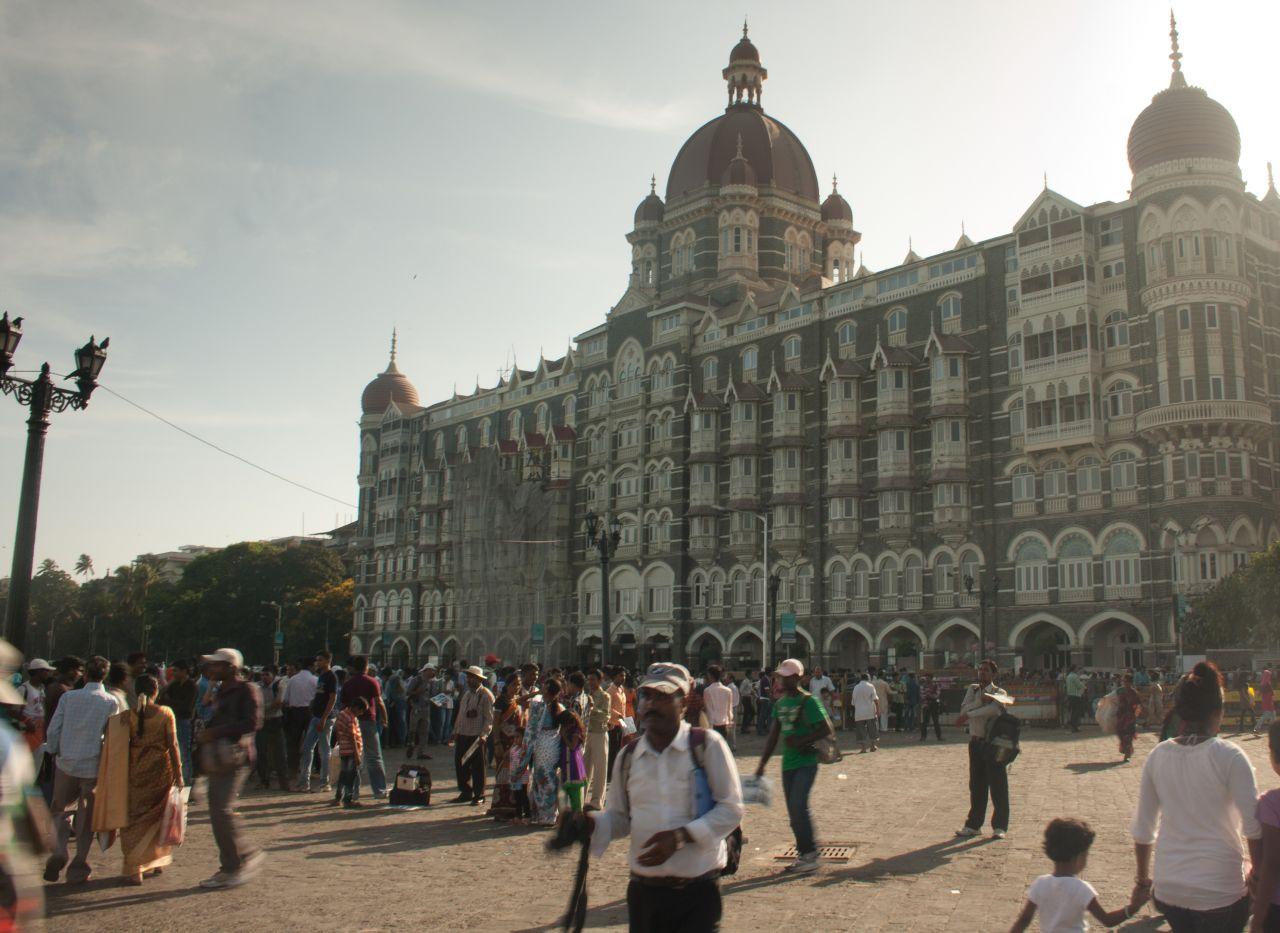 "Free photo ""Mumbai Taj Hotel"""