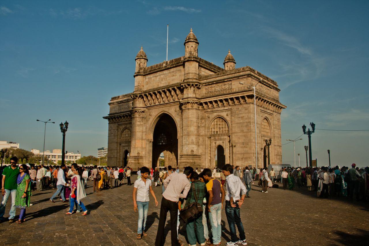 "Free photo ""Gateway Of India Tourists"""