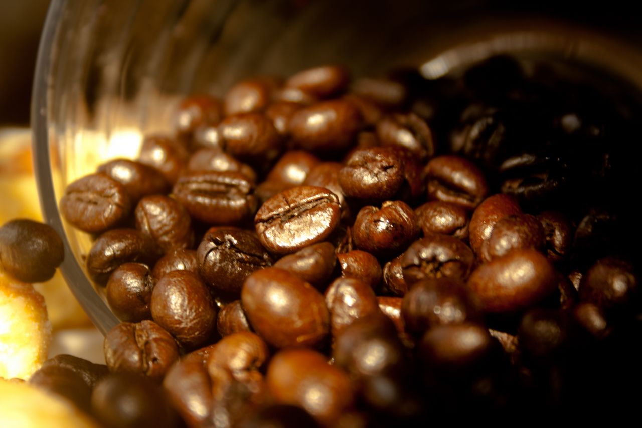 "Free photo ""Coffee Beans Bowl"""
