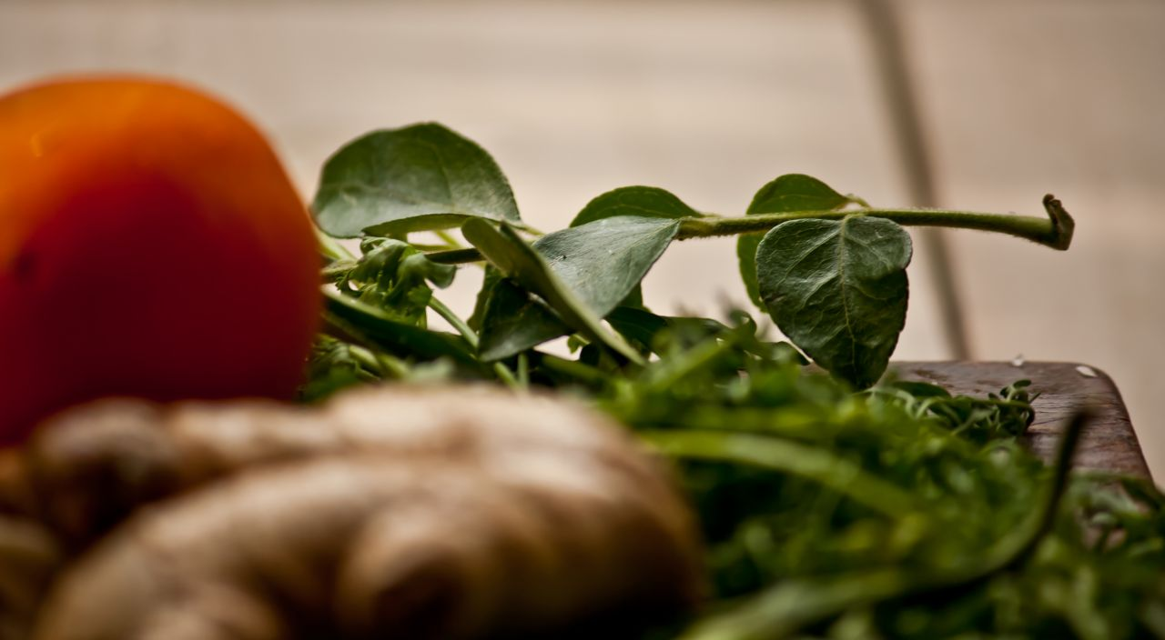 "Free photo ""Curry Leaf And Ginger"""