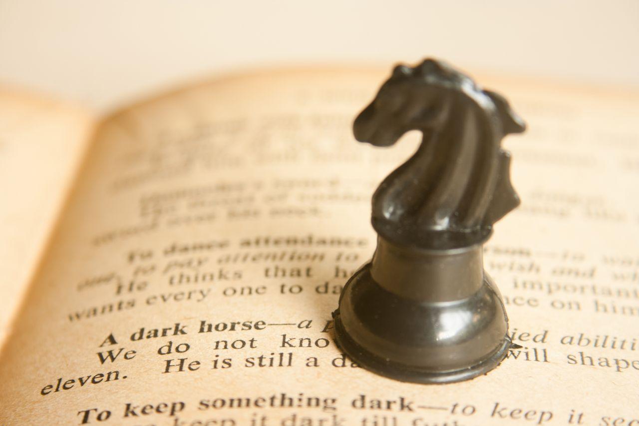 """Free photo """"Dark Horse Dictionary"""""""