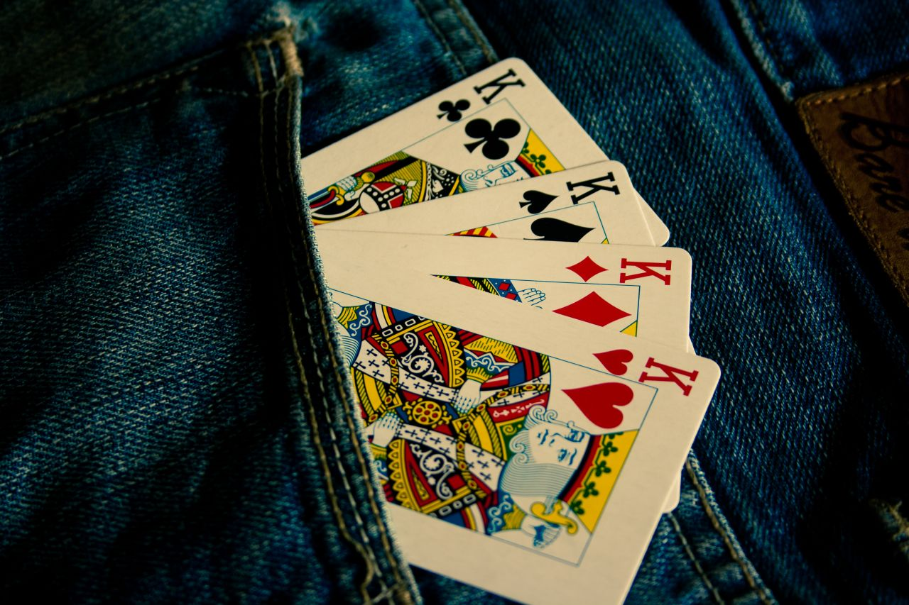 """Free photo """"King Cards In Pocket"""""""