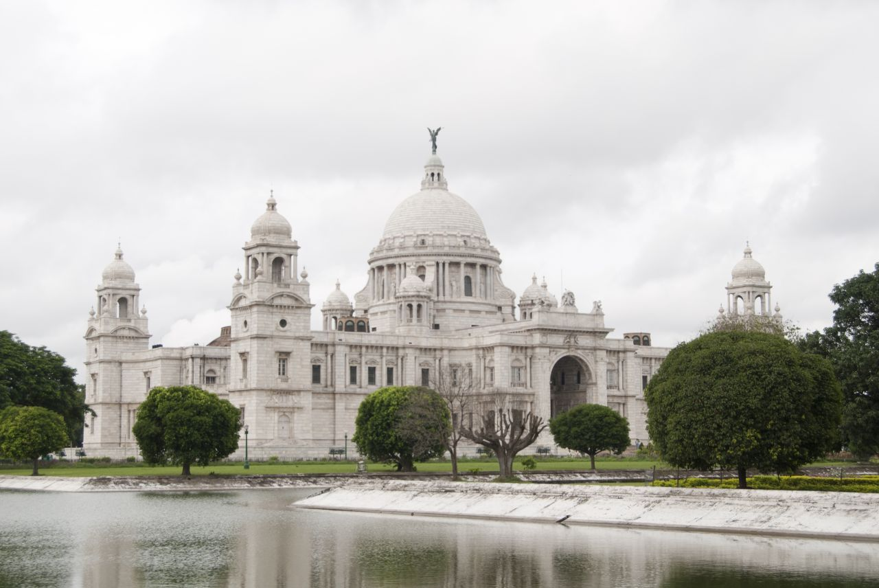 """Free photo """"Victoria Memorial Calcutta"""""""