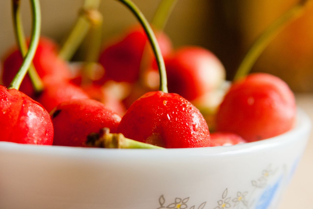 """Free photo """"Cherries Bowl"""""""