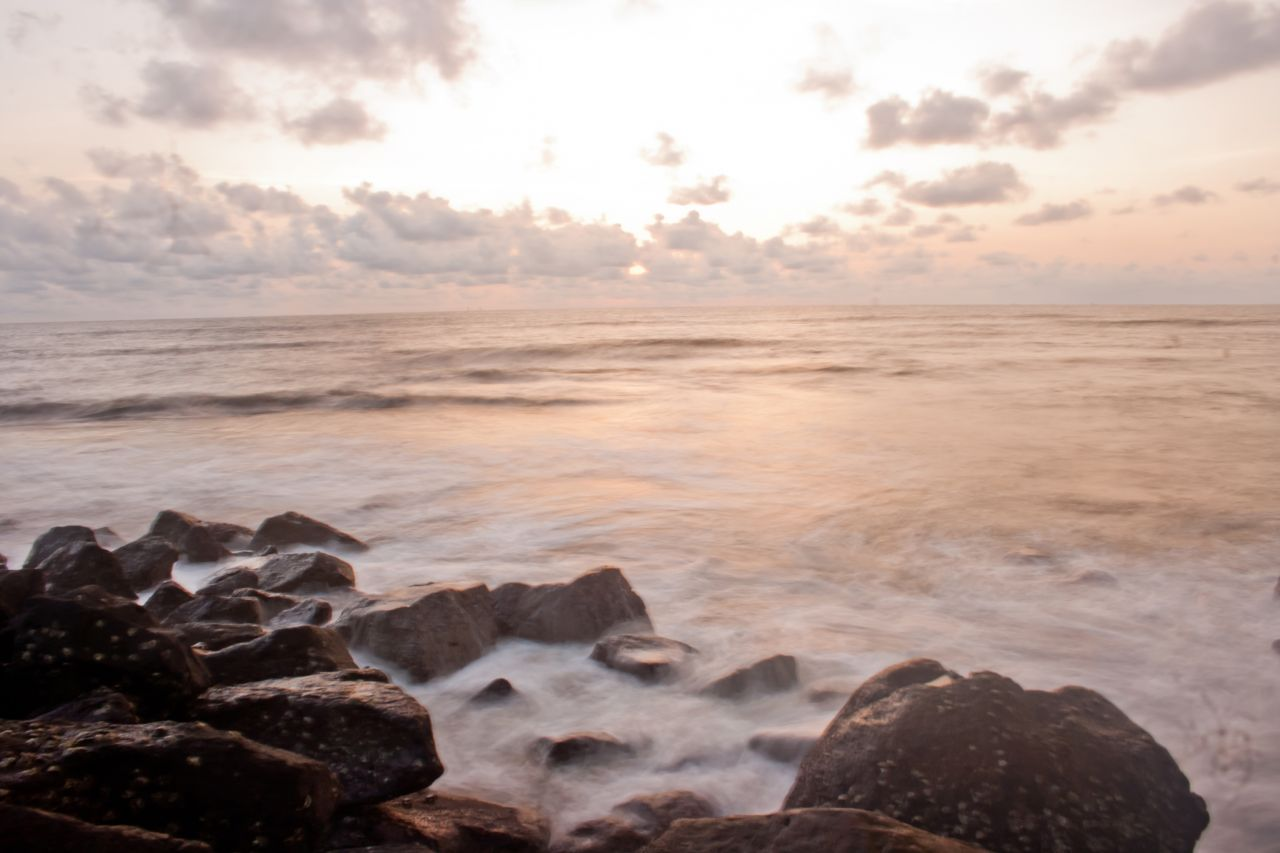 "Free photo ""Rocks Sea"""