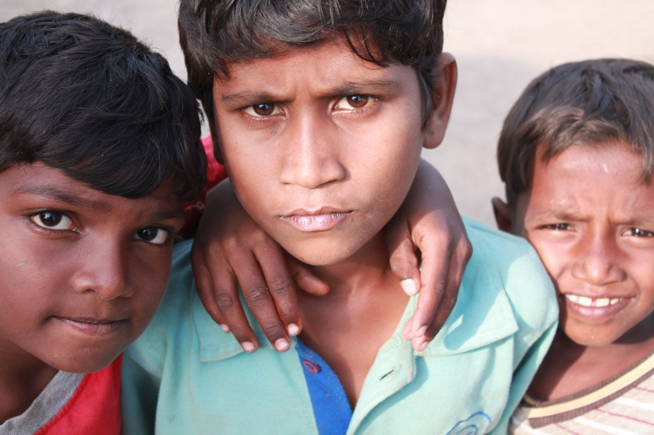 "Free photo ""Street Children India 2"""