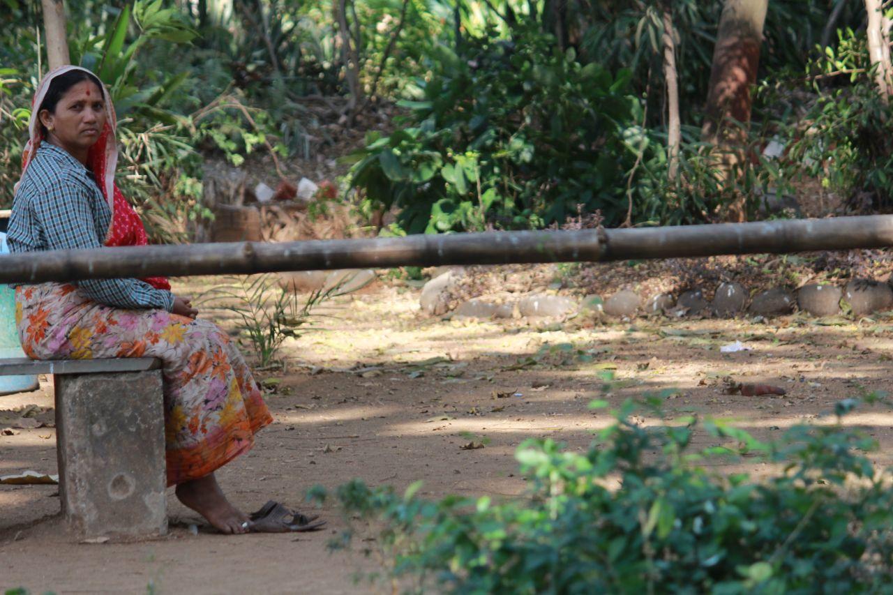 "Free photo ""Indian Village Woman"""