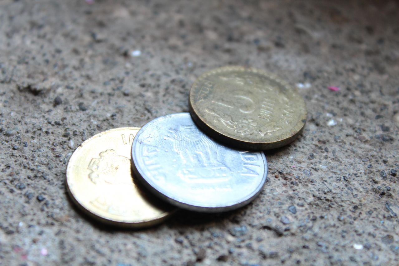 "Free photo ""Indian Coins Currency"""