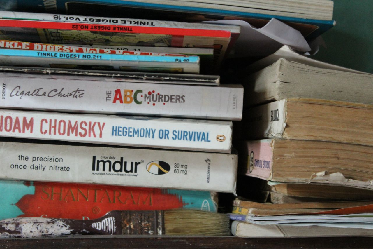"Free photo ""Old Books Stack"""