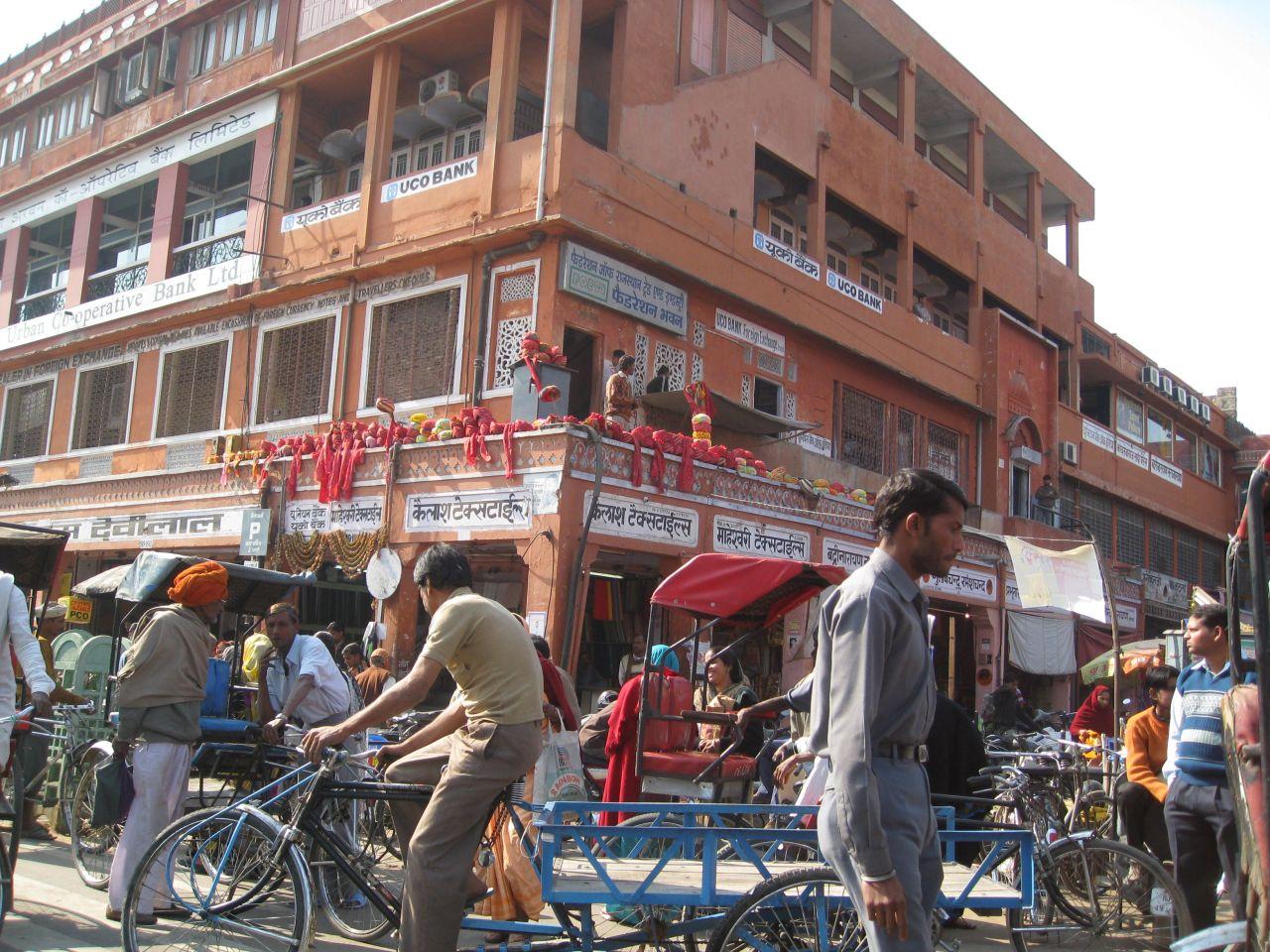 """Free photo """"Indian Market Jaipur India"""""""