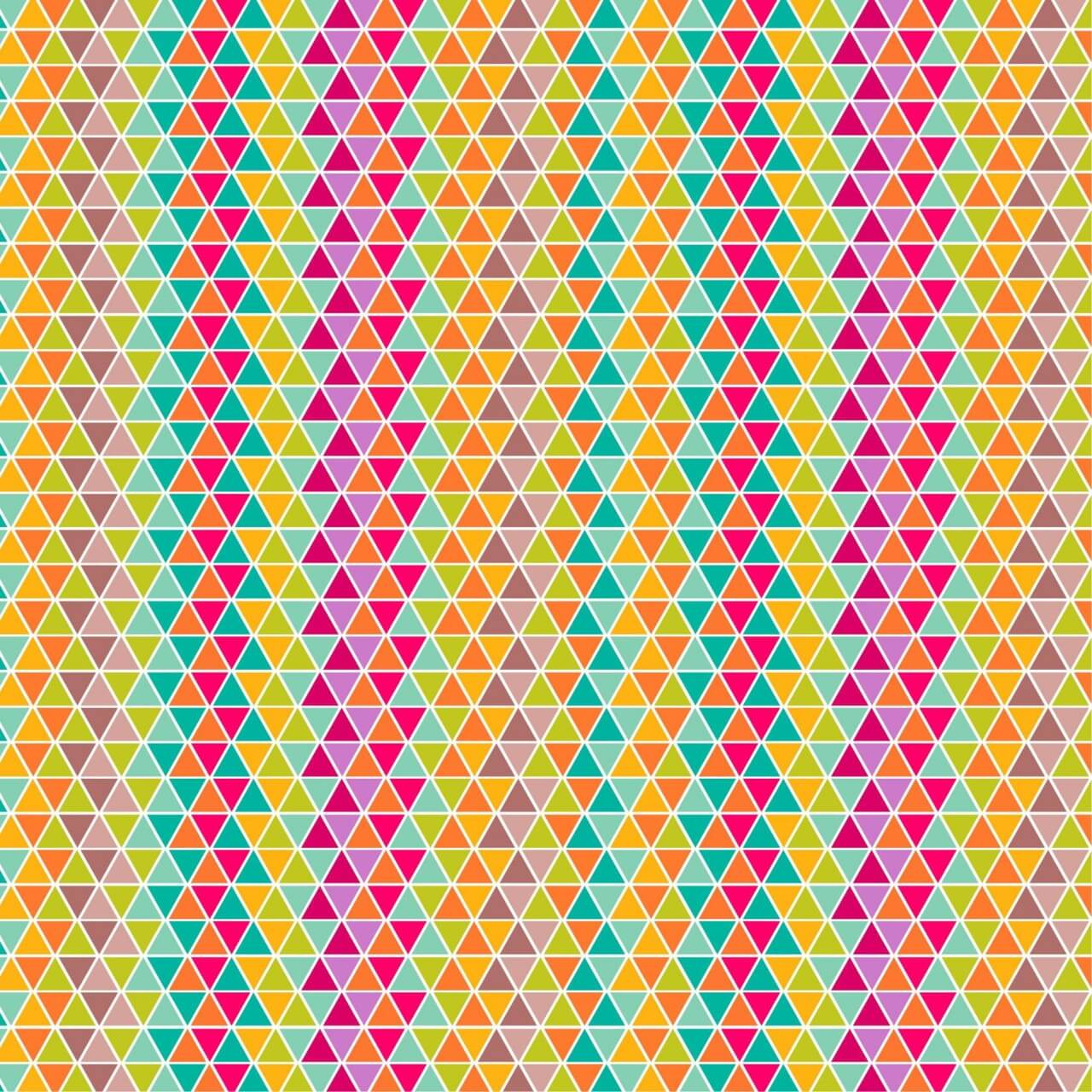 "Free vector ""Colorful triangular pattern design"""