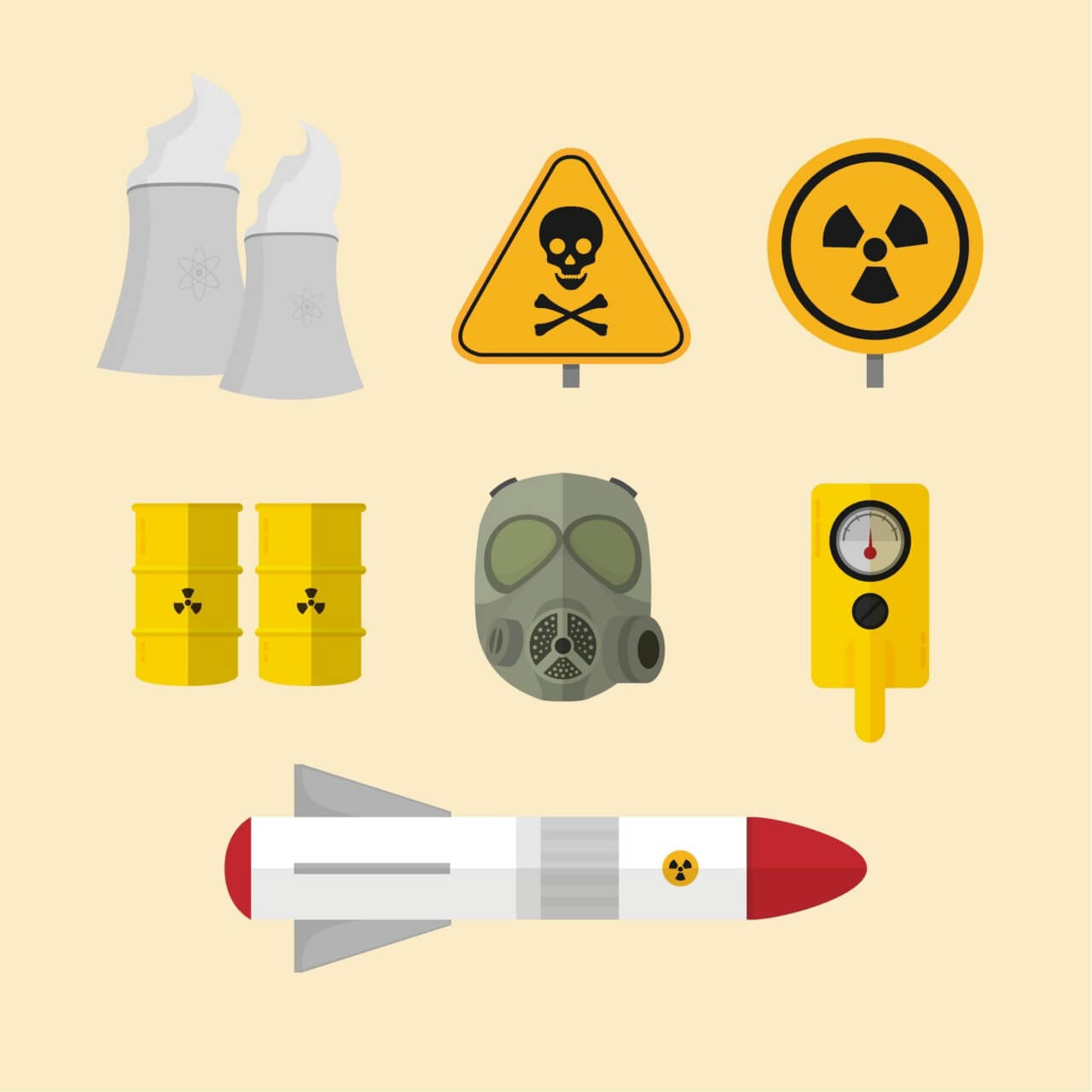 "Free vector ""Nuclear Elements"""