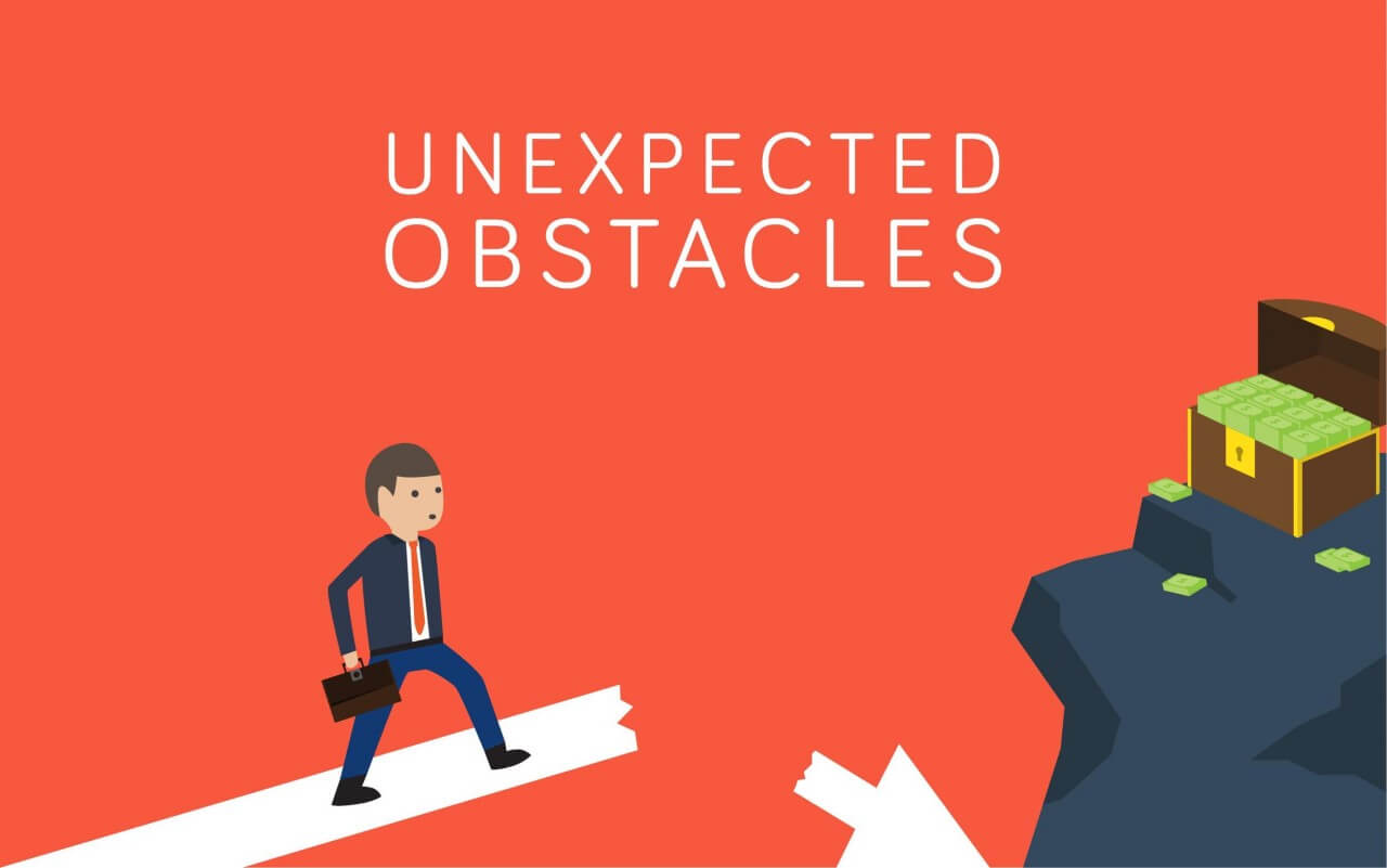 "Free vector ""Unexpected Obstacles"""