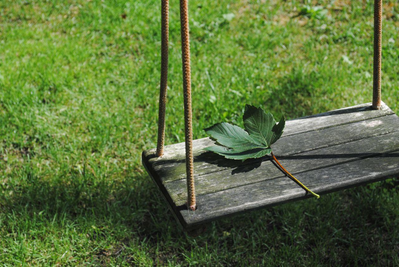 "Free photo ""Garden swing"""
