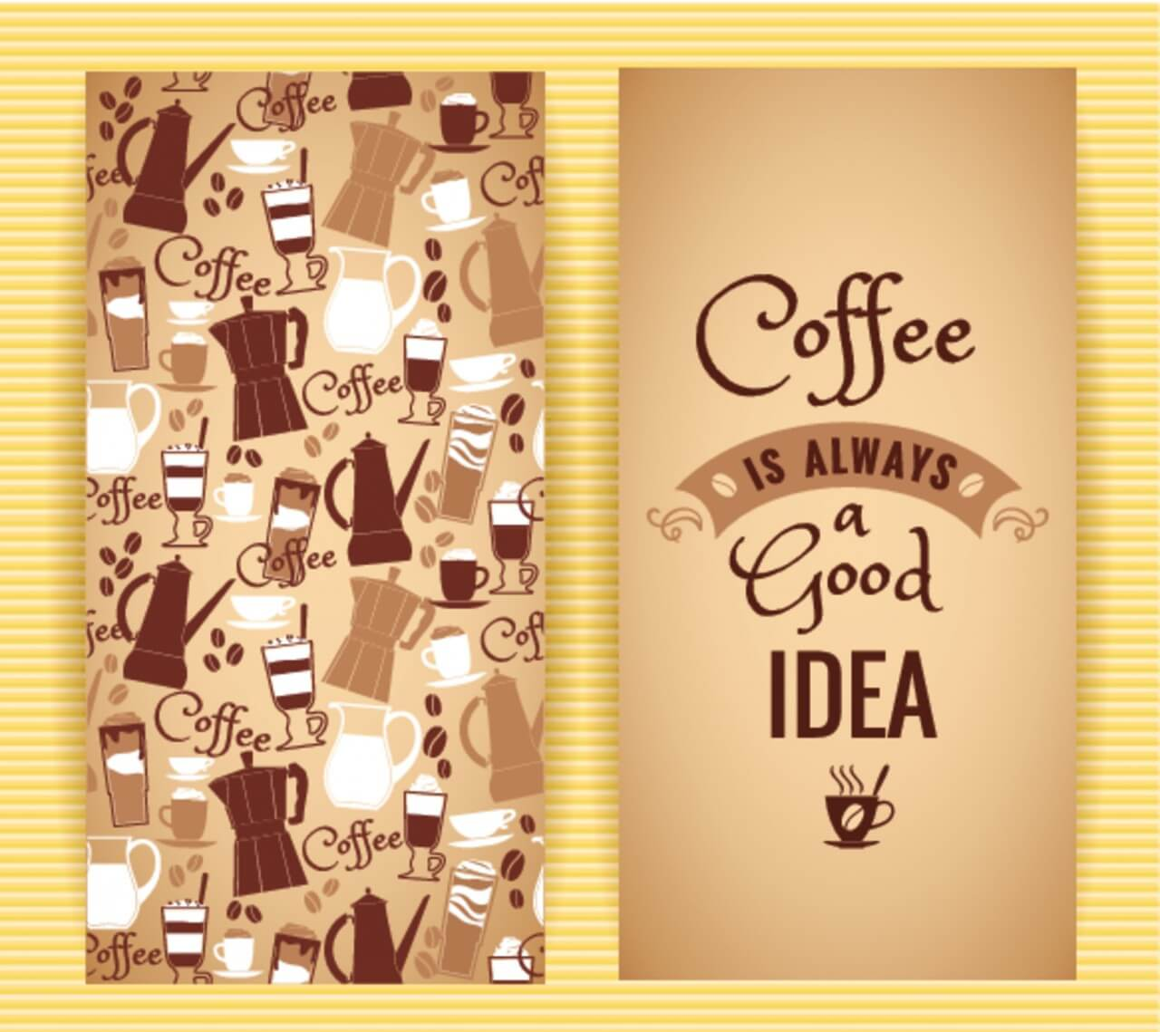 "Free vector ""Coffee concept design. """