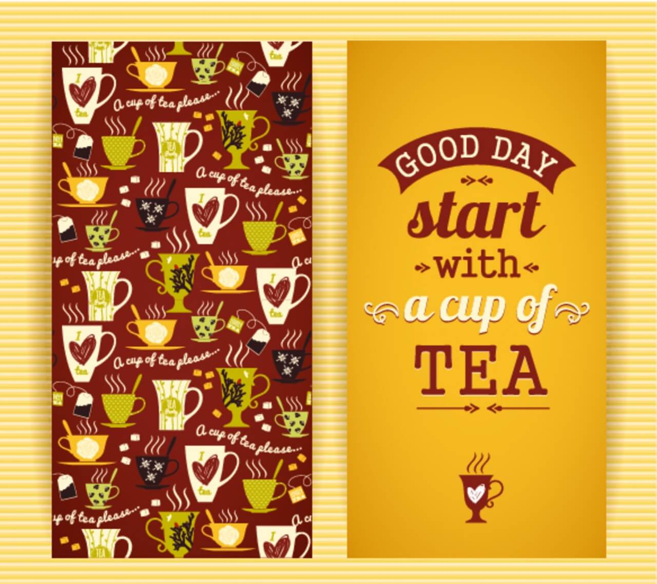 "Free vector ""Tea concept design. """