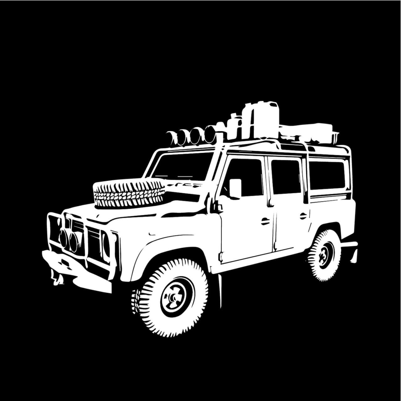 "Free vector ""Safari Truck"""