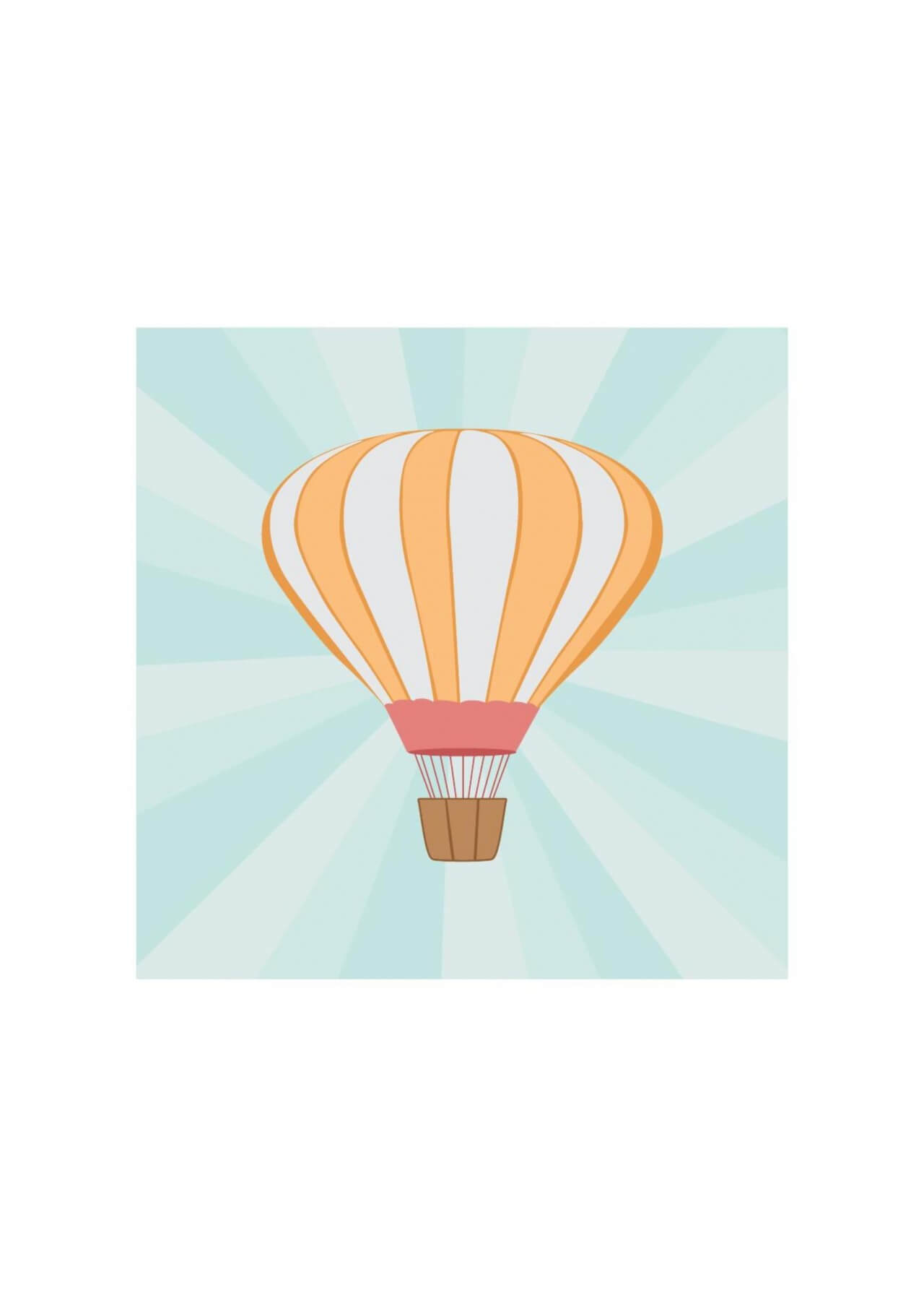 "Free vector ""Vector illustration Air balloon"""