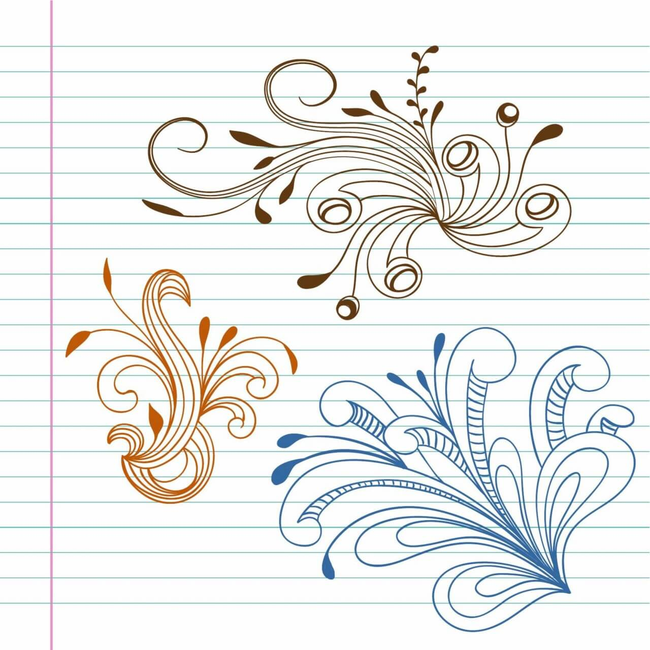 "Free vector ""Doodle vector illustration"""