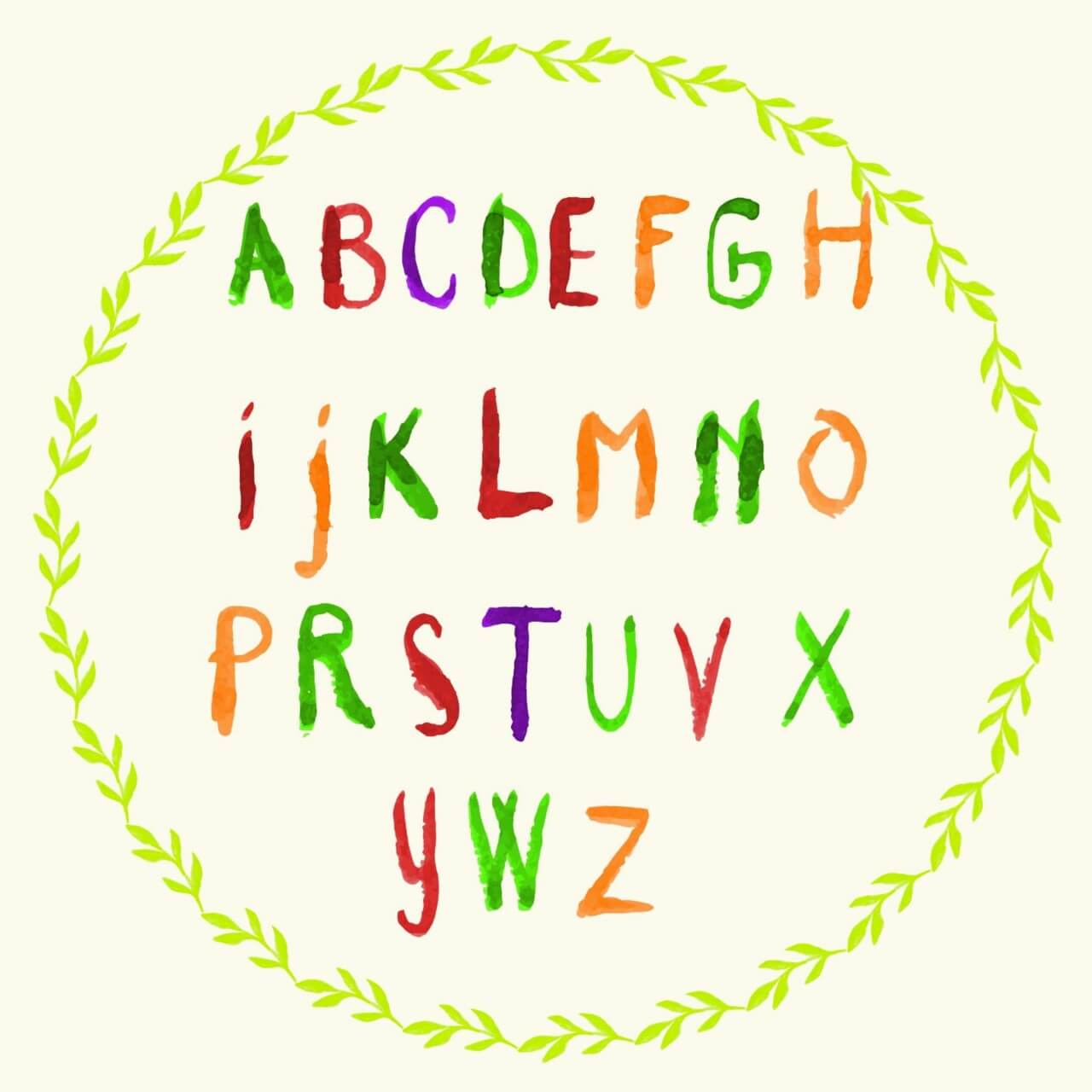"""Free vector """"Watercolor vector frame with typography """""""