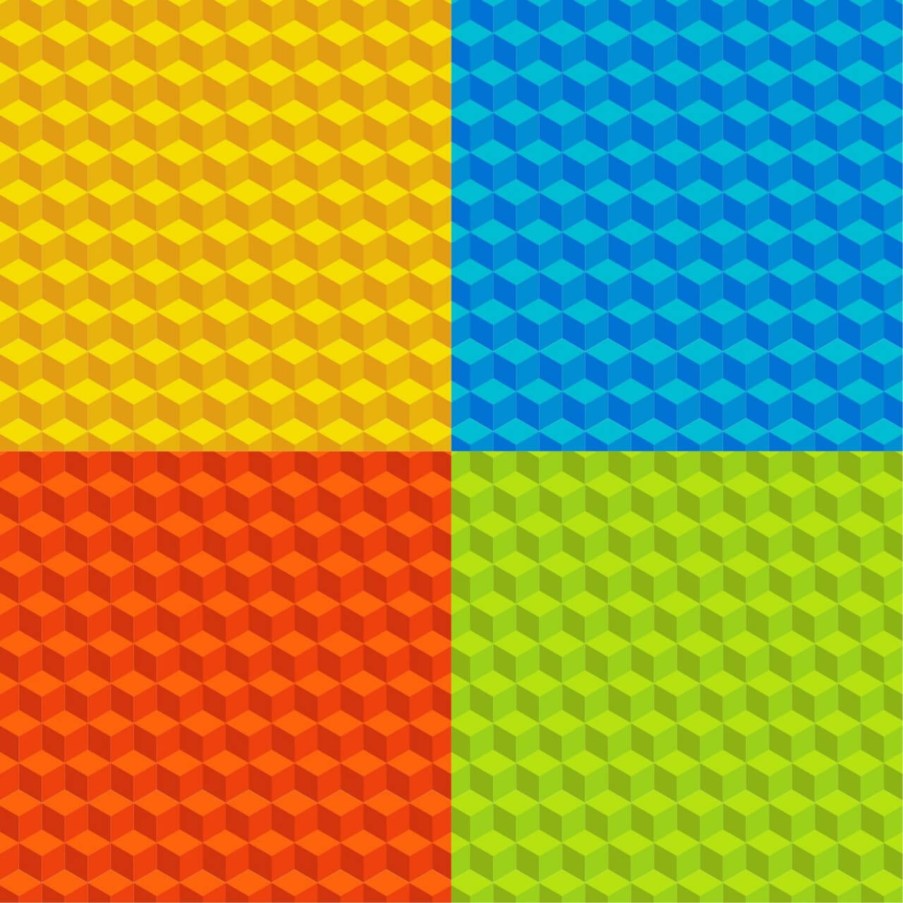 """Free vector """"Color Patterns"""""""