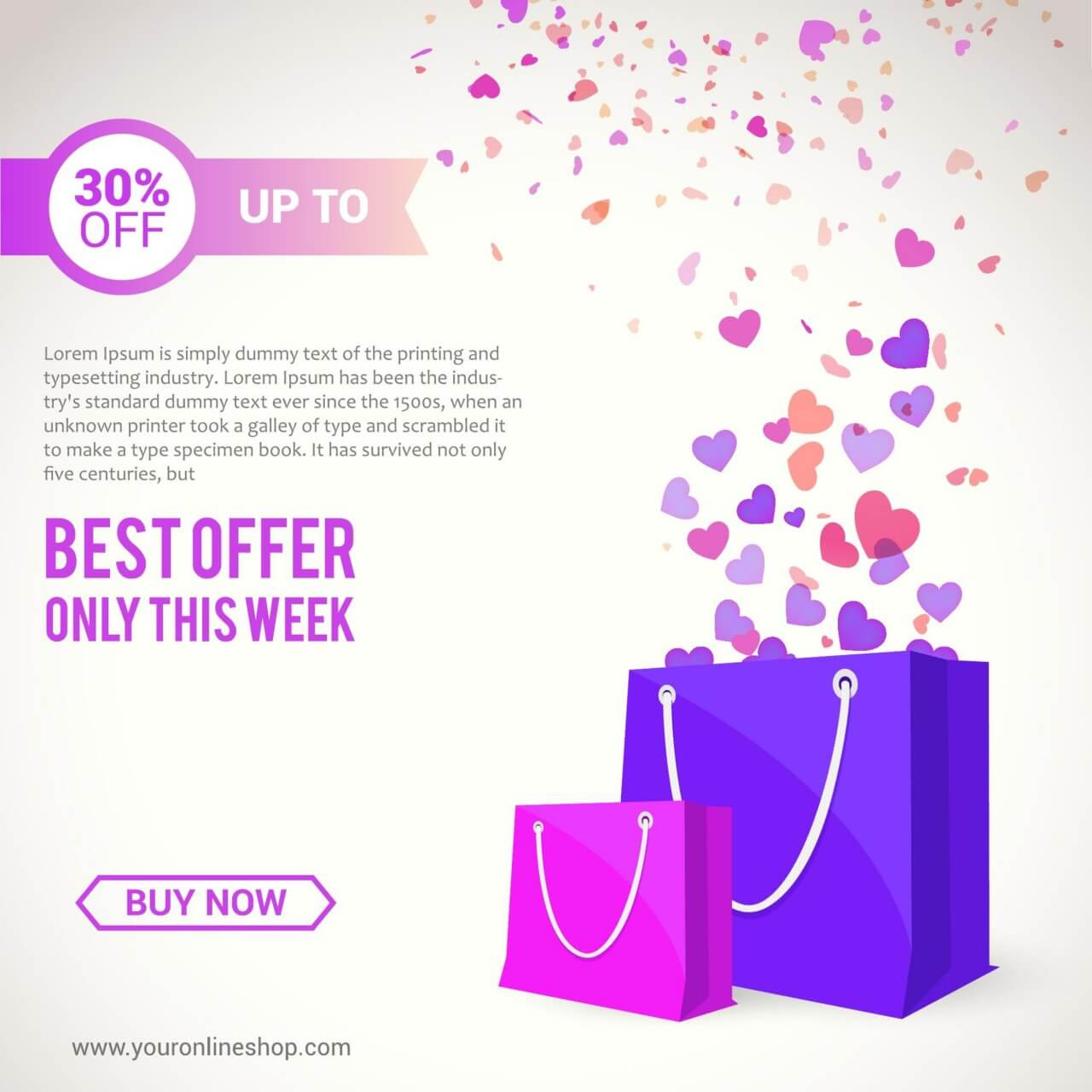 """Free vector """"Shopping Bags"""""""