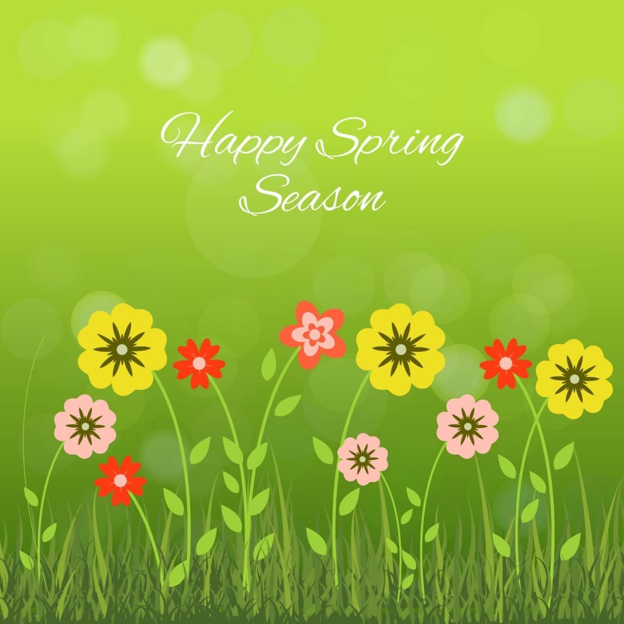 "Free vector ""Spring Season"""