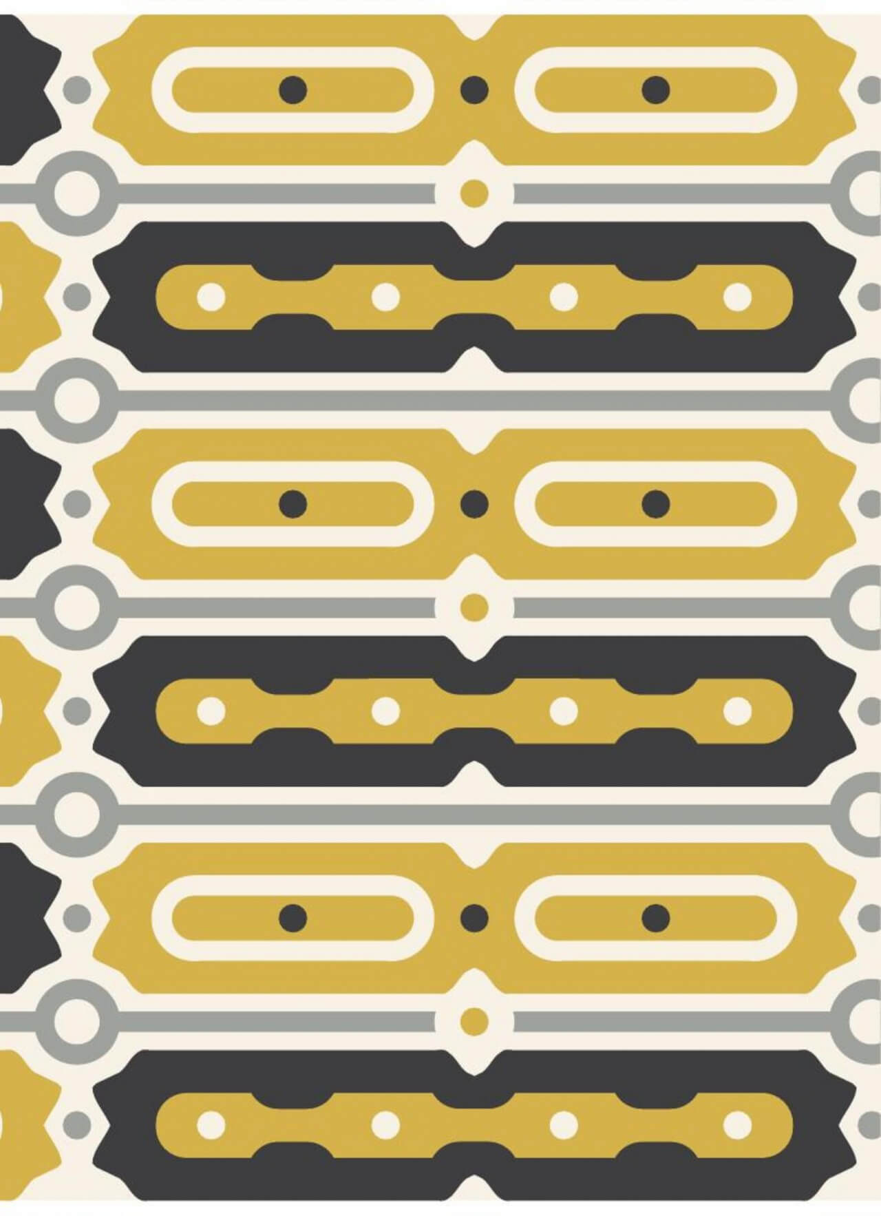 """Free vector """"Gold and Black Bar Pattern"""""""