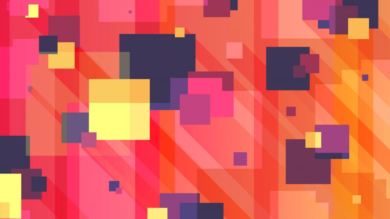 """Free vector """"Long Shadow Squares Background"""""""