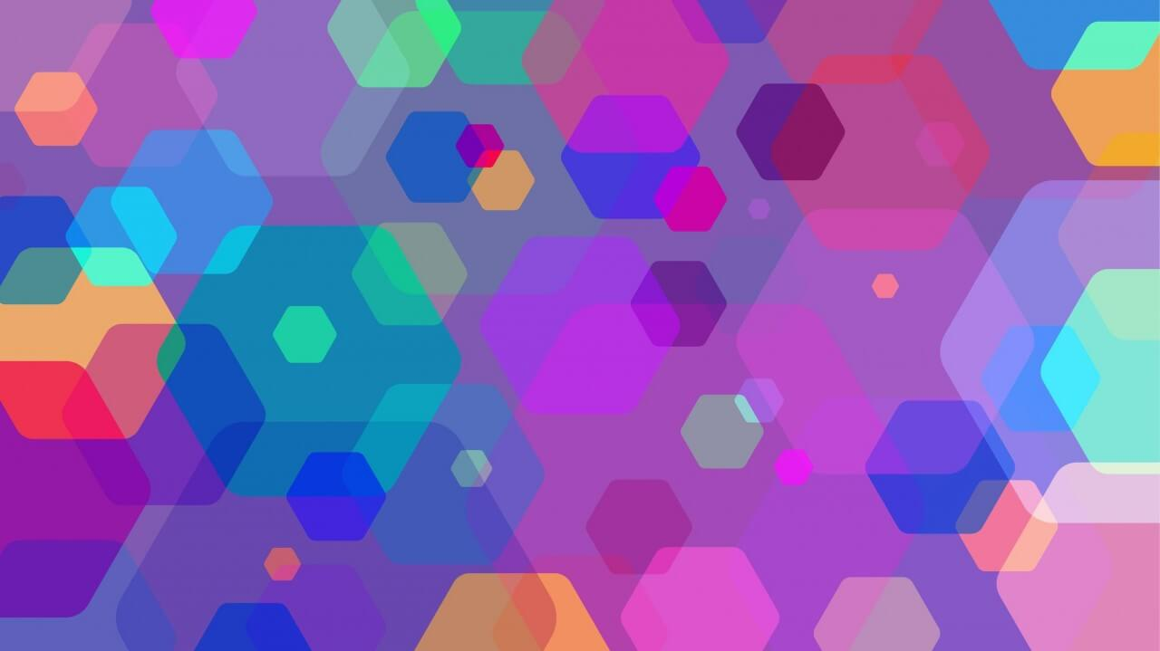 "Free vector ""Colorful Abstract Shapes"""