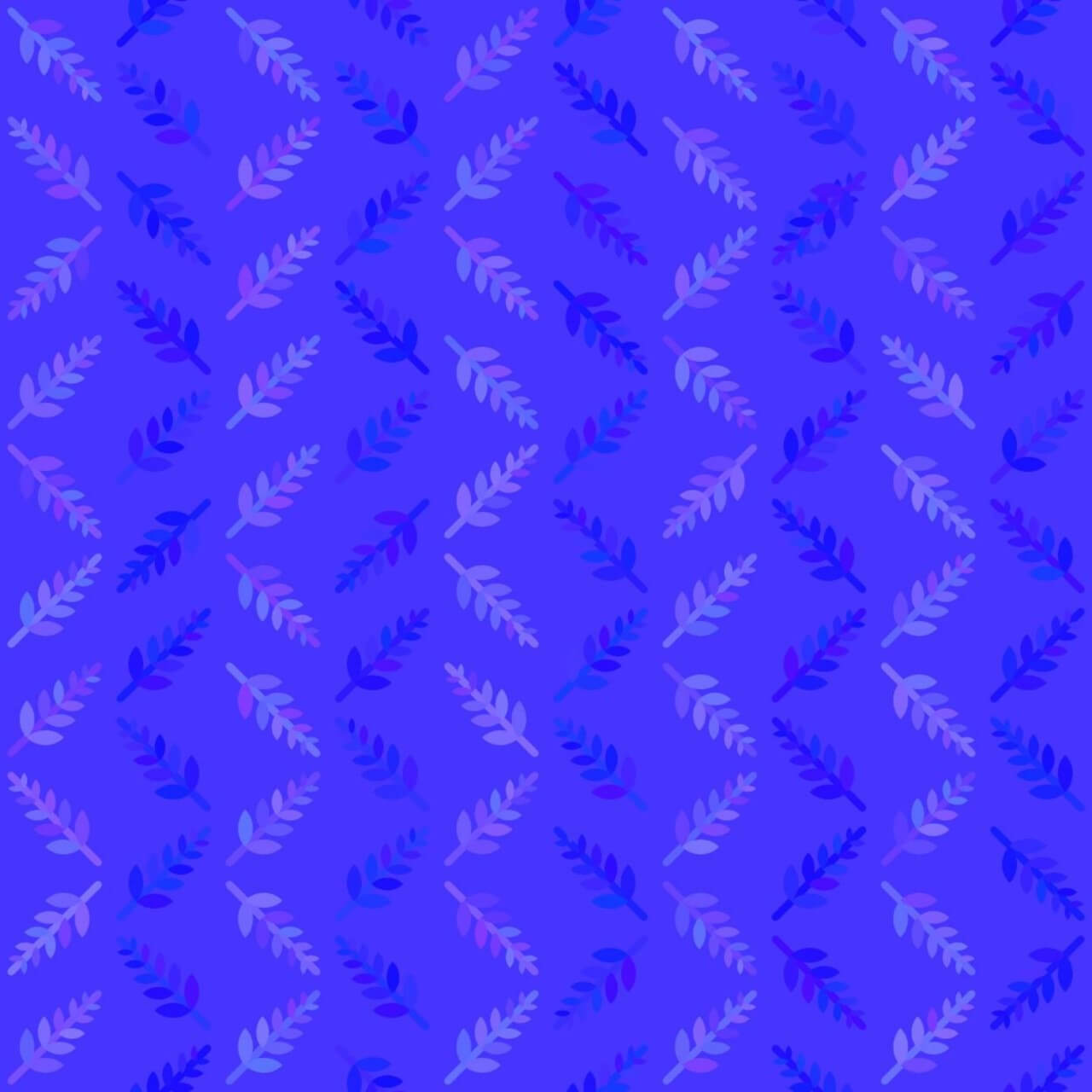 """Free vector """"Blue Nature Pattern"""""""