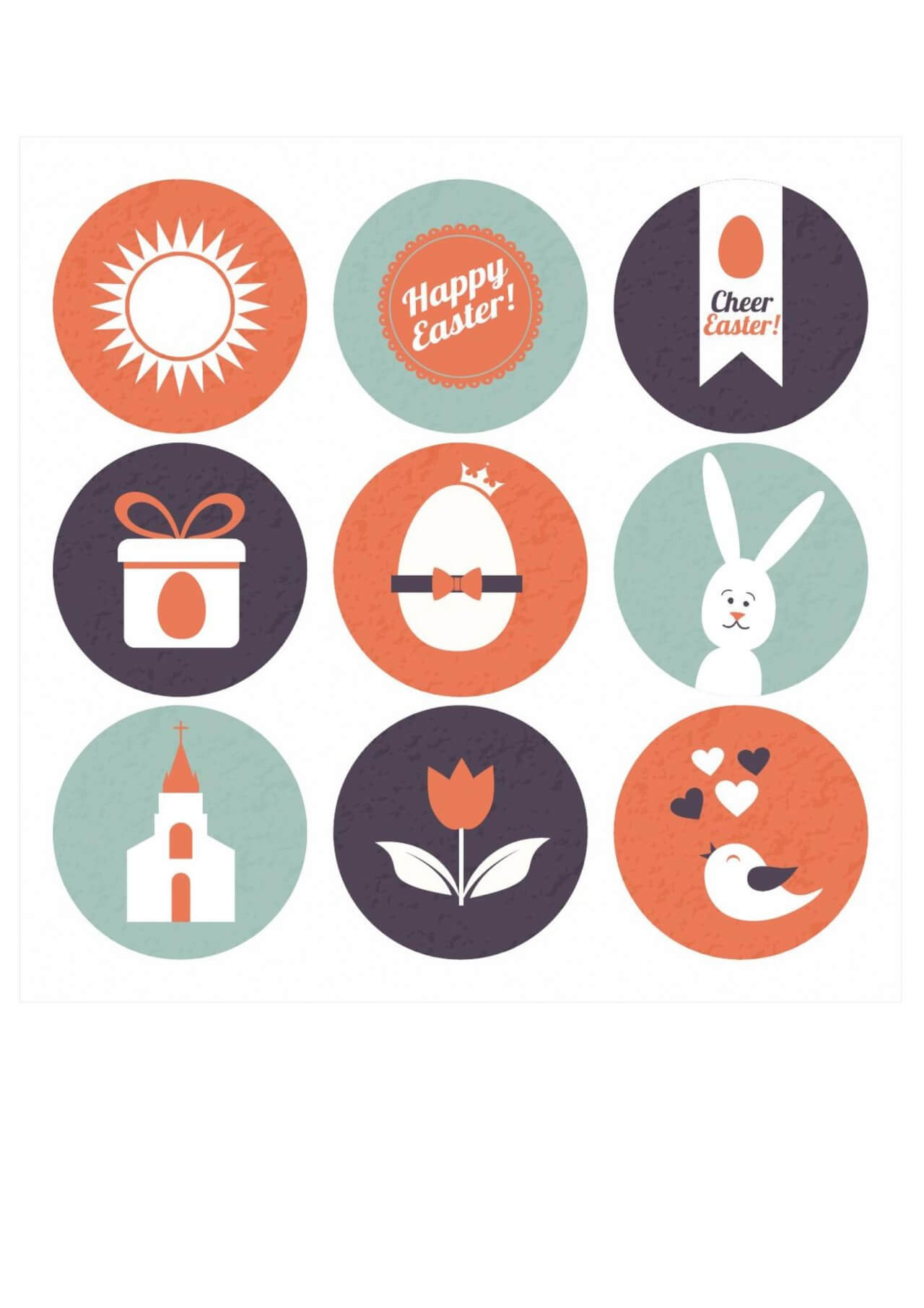 "Free vector ""Easter illustration"""