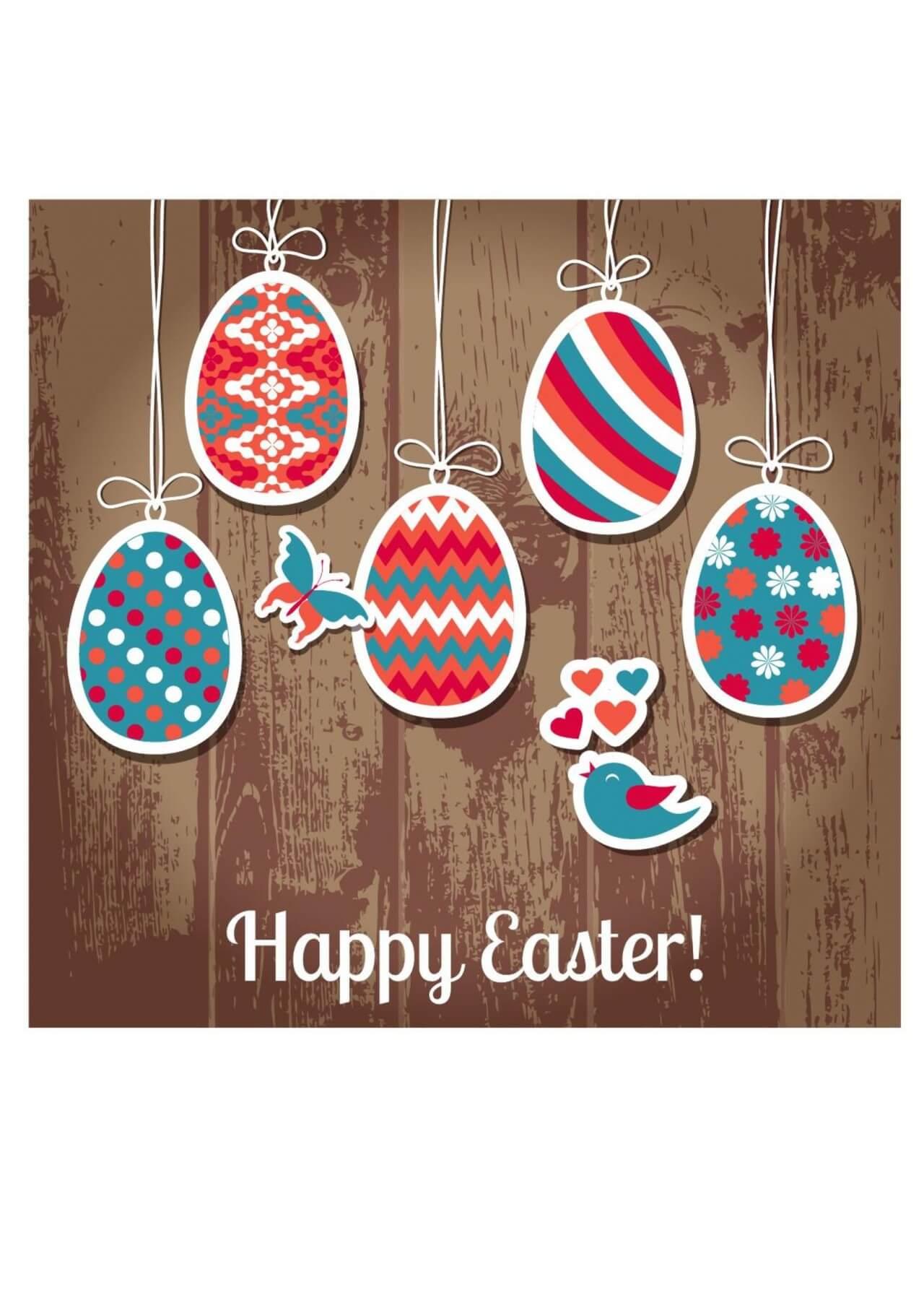 "Free vector ""Easter illustration"""