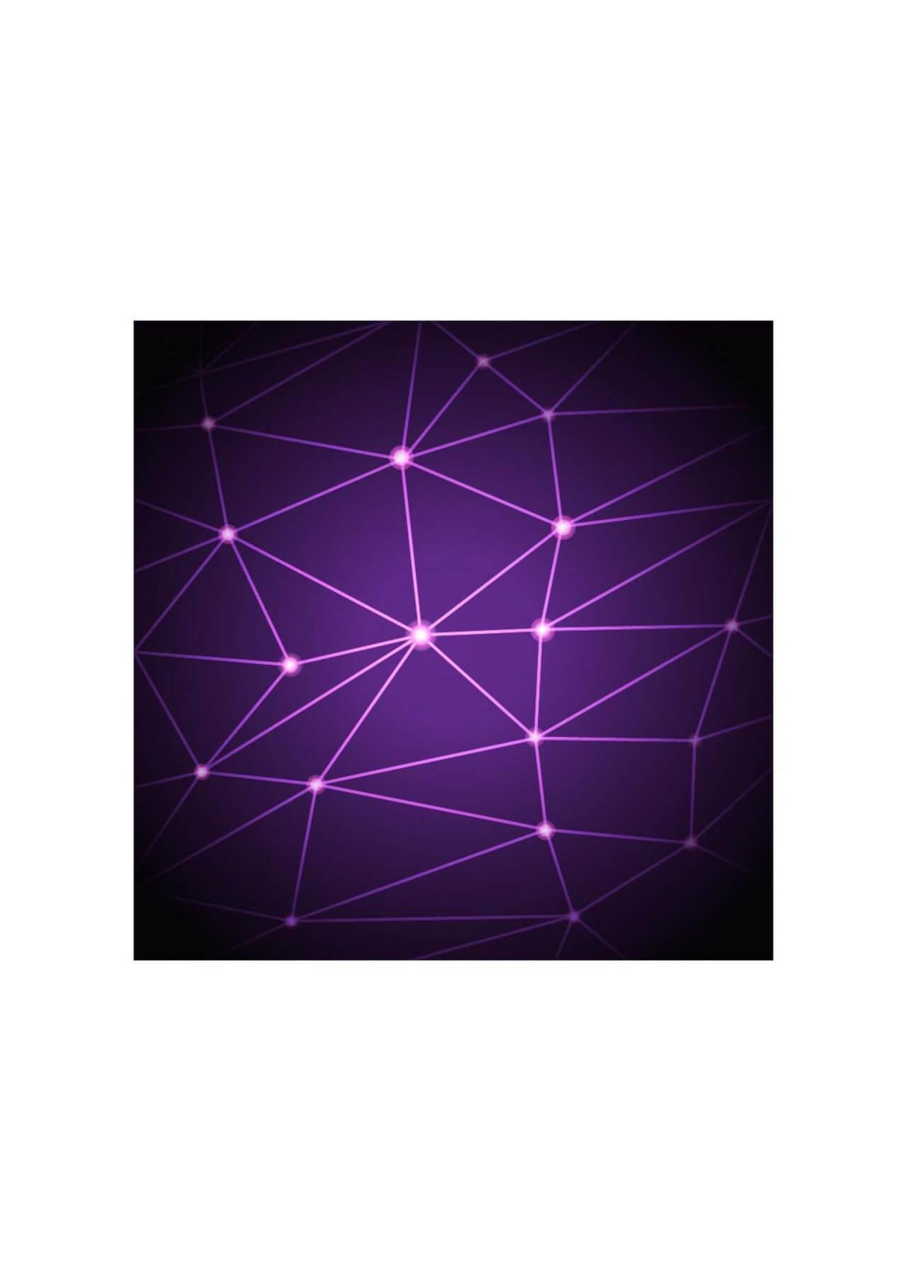 "Free vector ""Purple geometric background"""