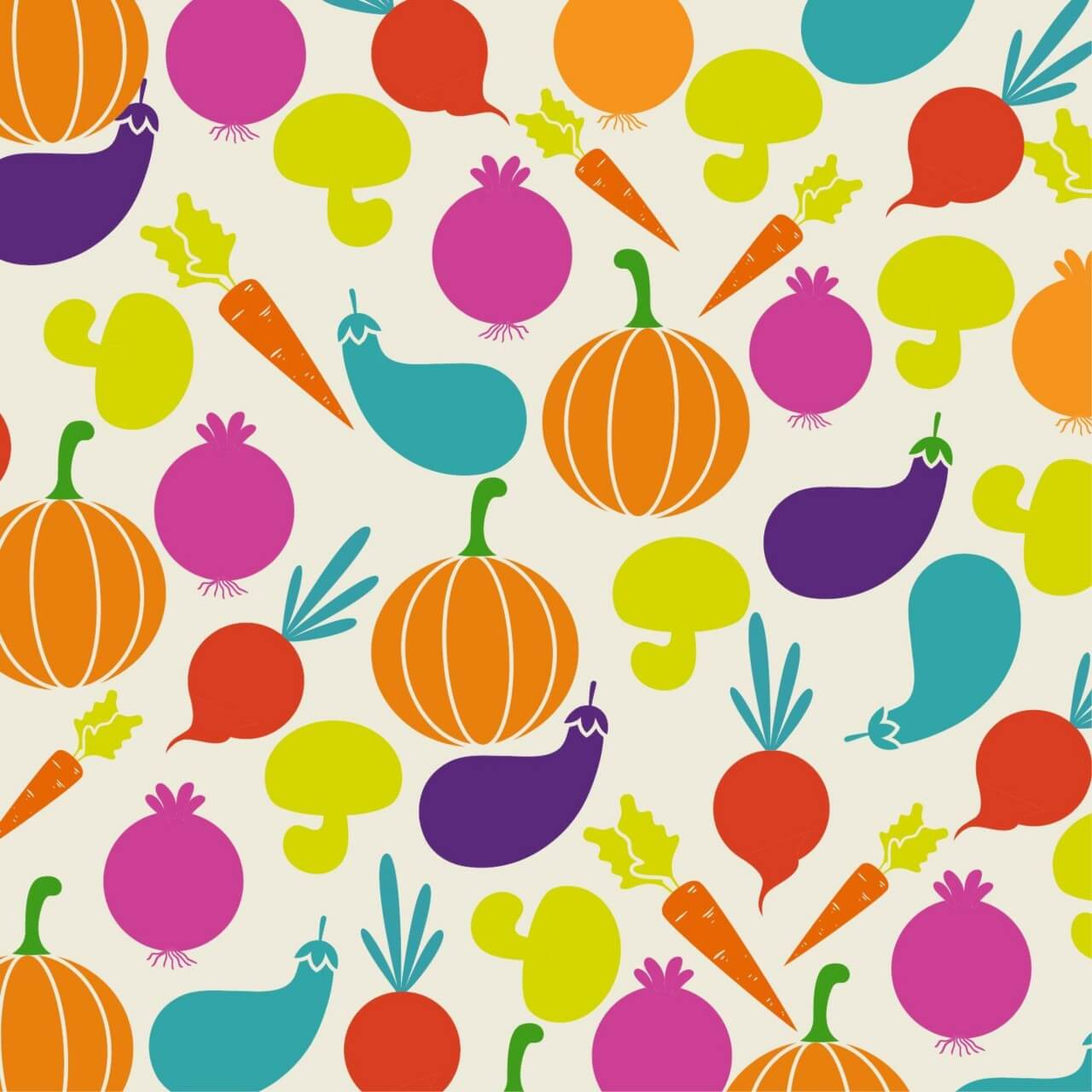 "Free vector ""Food illustration with vegetables"""