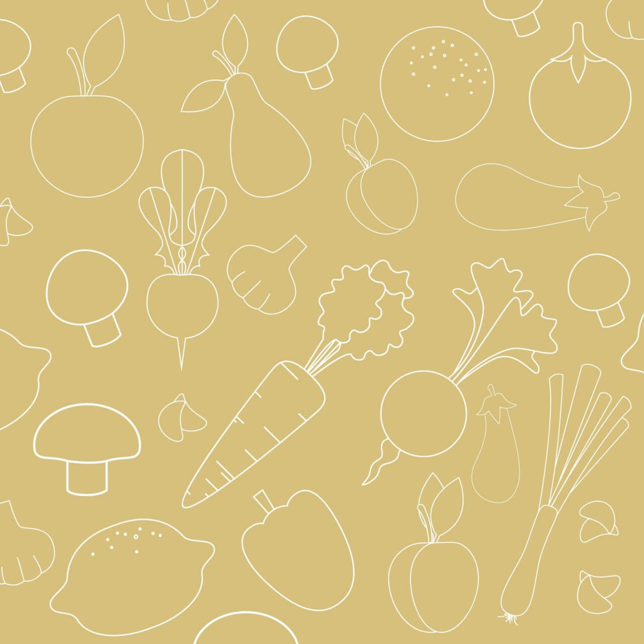 "Free vector ""Seamless pattern with food vegetables elements"""