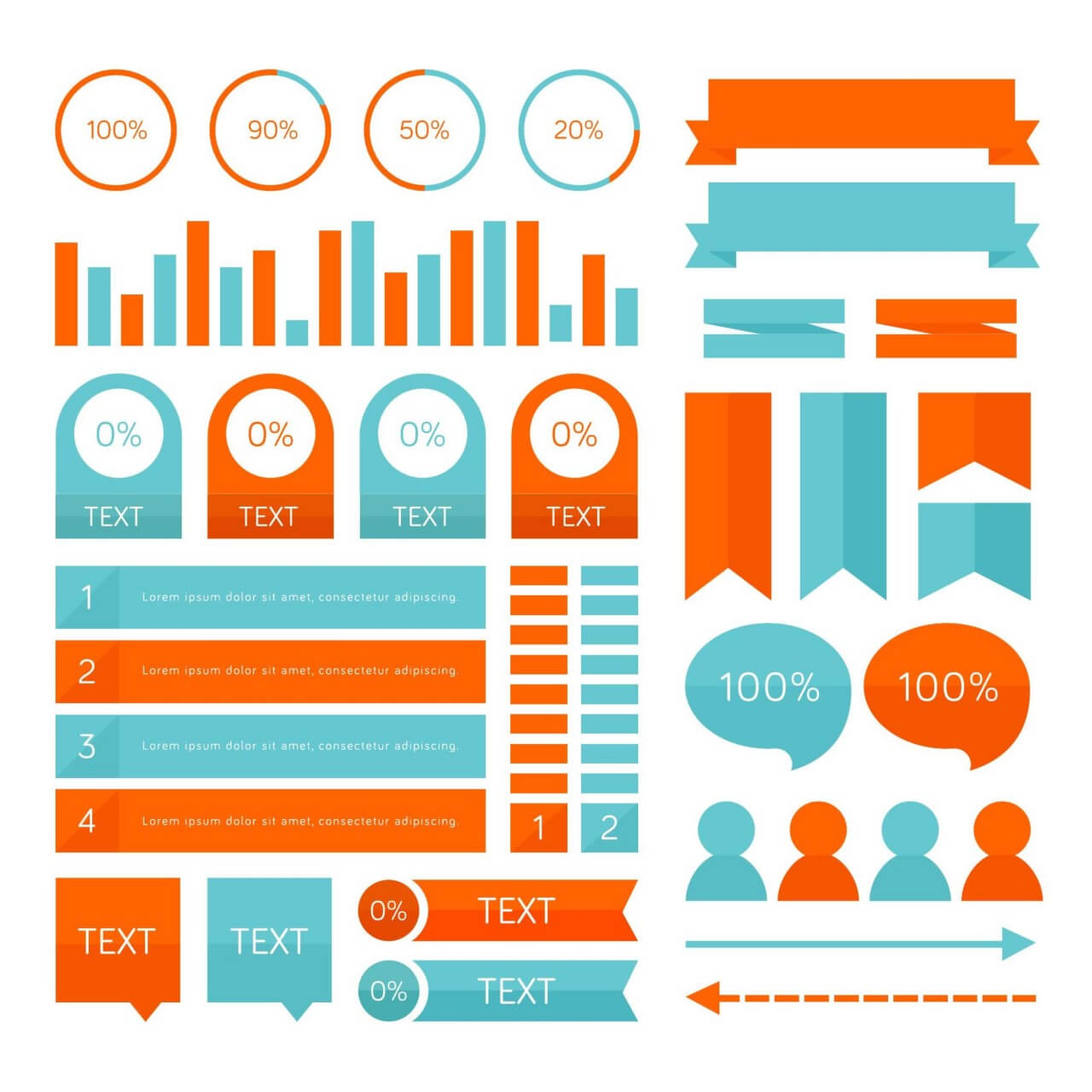 "Free vector "" Infographic elements"""
