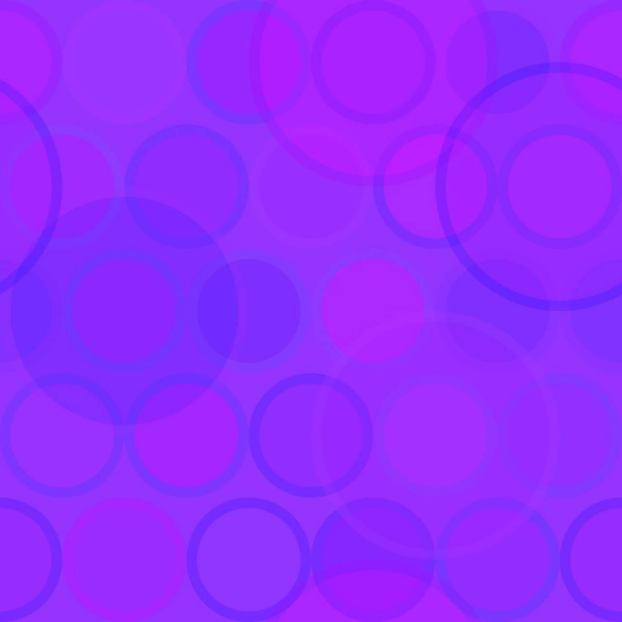 "Free vector ""Purple Circles Pattern"""