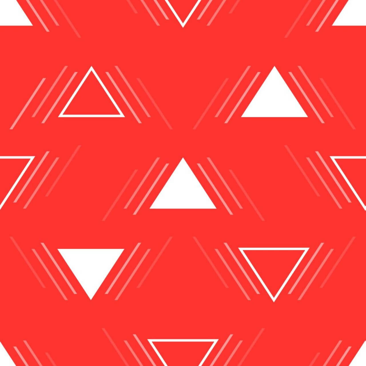 "Free vector ""Action Triangles Pattern"""