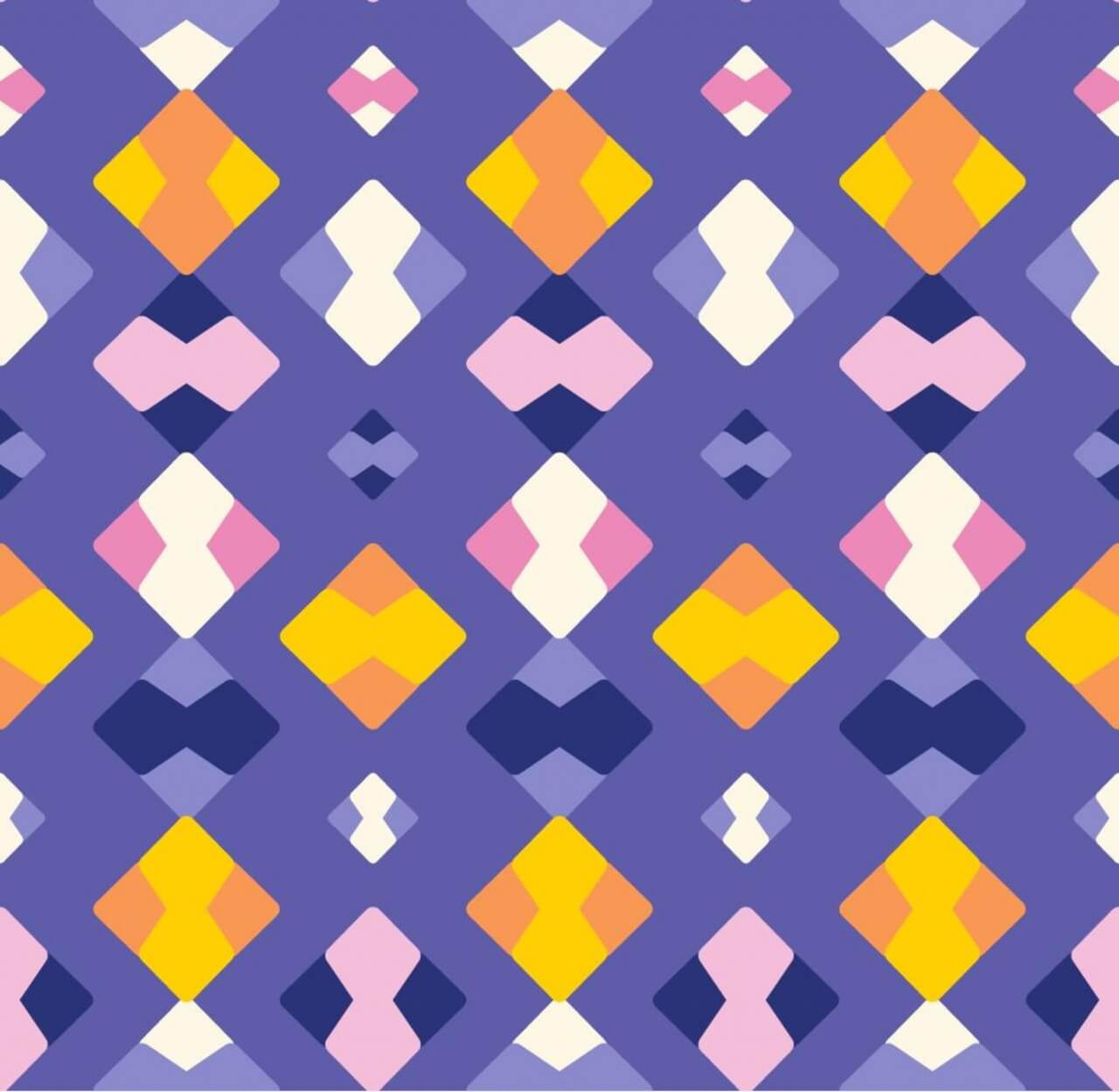 "Free vector ""Colorful Abstract Pattern"""