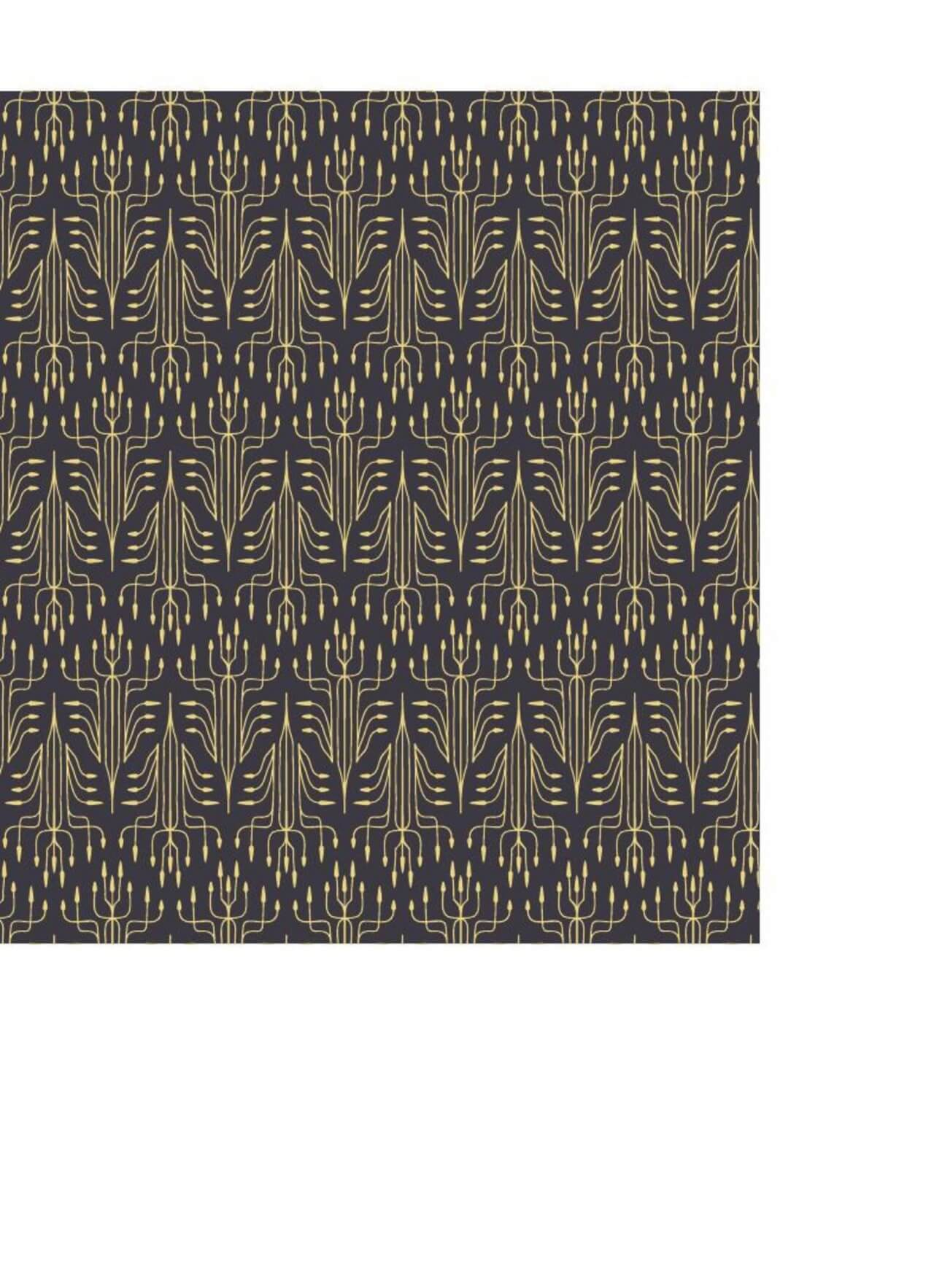 """Free vector """"Roaring 1920s thin line style pattern """""""