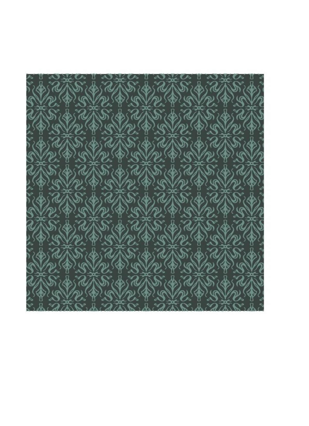 "Free vector ""Ornate wallpaper style pattern"""
