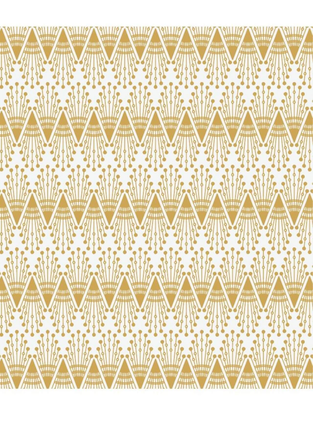 """Free vector """"Roaring 1920s fan style pattern """""""