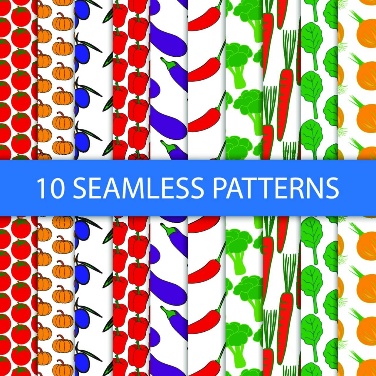 """Free vector """"Food seamless pattern"""""""