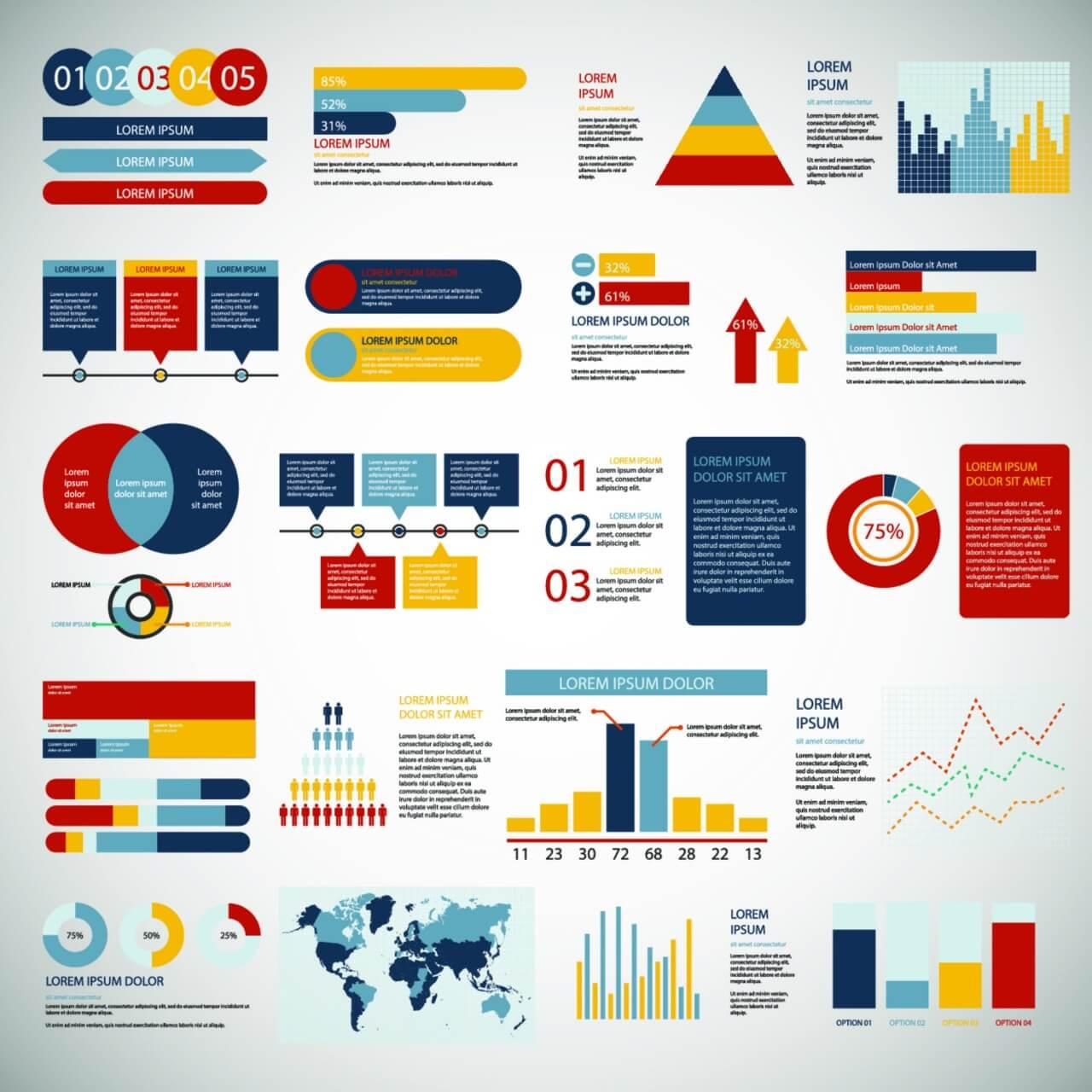 "Free vector ""Infographics elements"""
