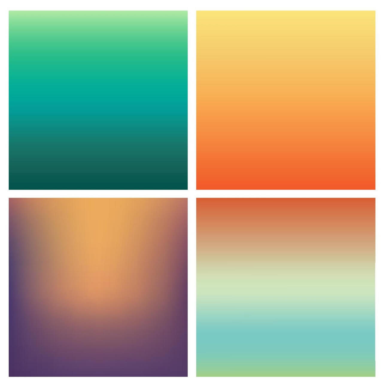 "Free vector ""Abstract colorful blurred backgrounds set"""
